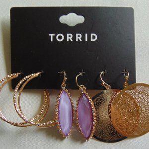 Gold & Violet Trio